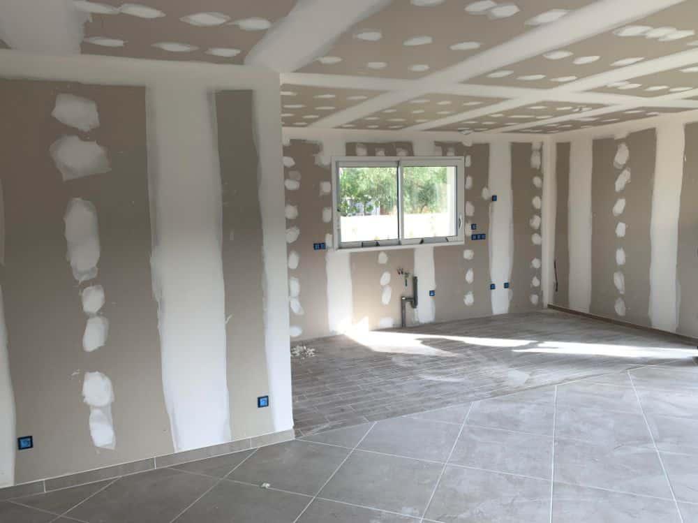 Nettoyage de fin de chantier d'une villa située sur la commune de Orgueil, DNA Propreté & Services