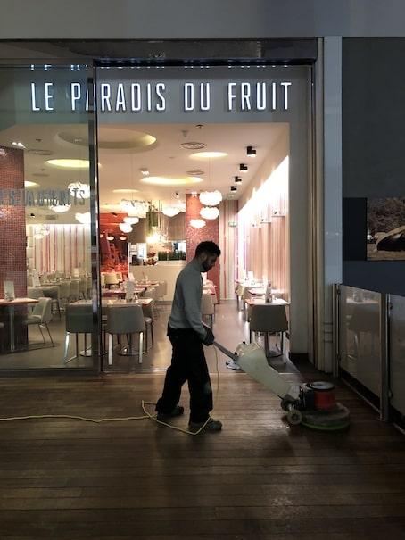 le paradis du fruit société nettoyage