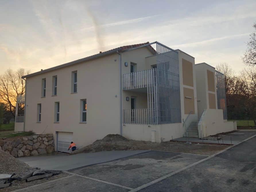 Nettoyage de fin de chantier d'un programme de 16 appartements et 4 villa sur la commune de Tournefeuille, DNA Propreté & Services
