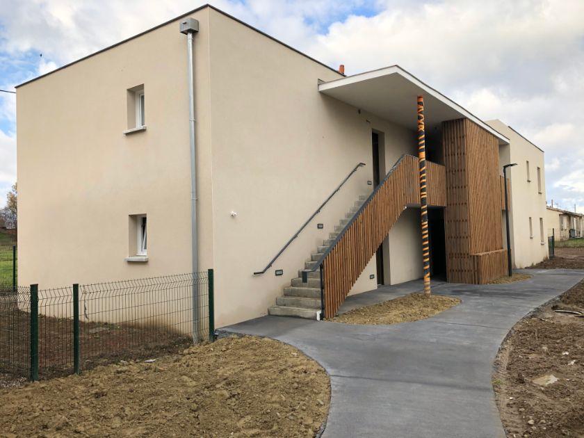 Nettoyage de fin de chantier de 41 appartements situés sur la commune d'Aucamville, DNA Propreté & Services