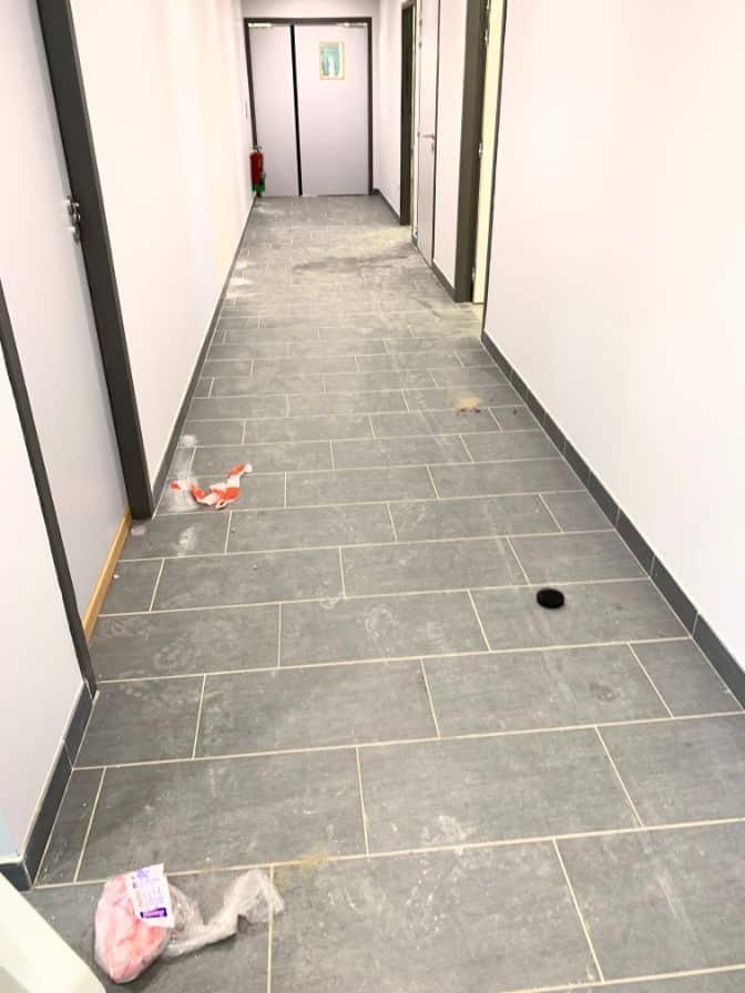 Nettoyage de fin de chantier du nouveau DOJO de la ville de L'Union, DNA Propreté & Services