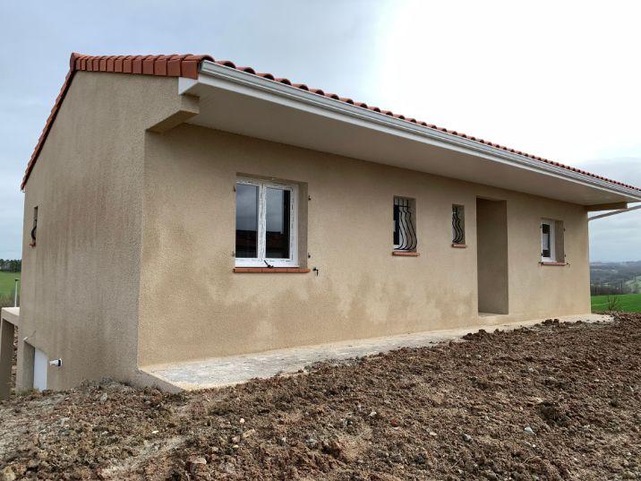 Nettoyage de fin de chantier d'une villa située sur la commune de Dénat, DNA Propreté & Services