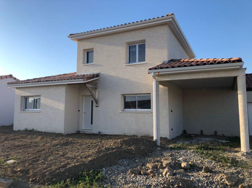 Nettoyage de fin de chantier d'une villa située à Lavernose-Lacasse, DNA Propreté & Services