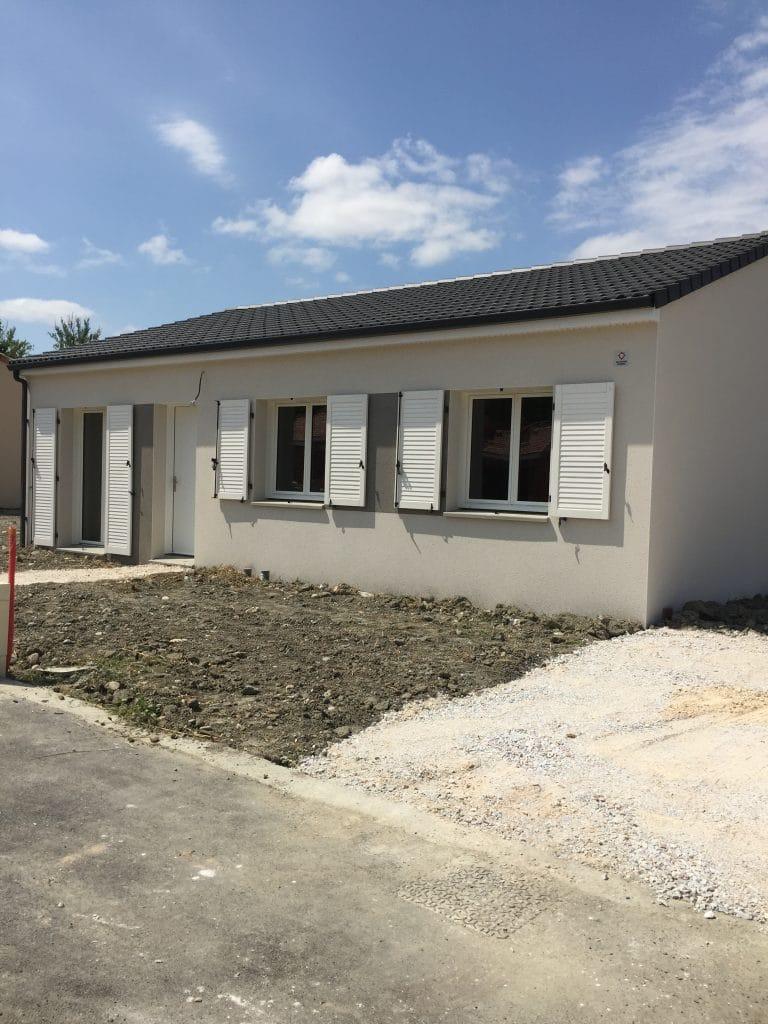 Nettoyage de fin de chantier d'une villa situées à Le Fauga, DNA Propreté & Services