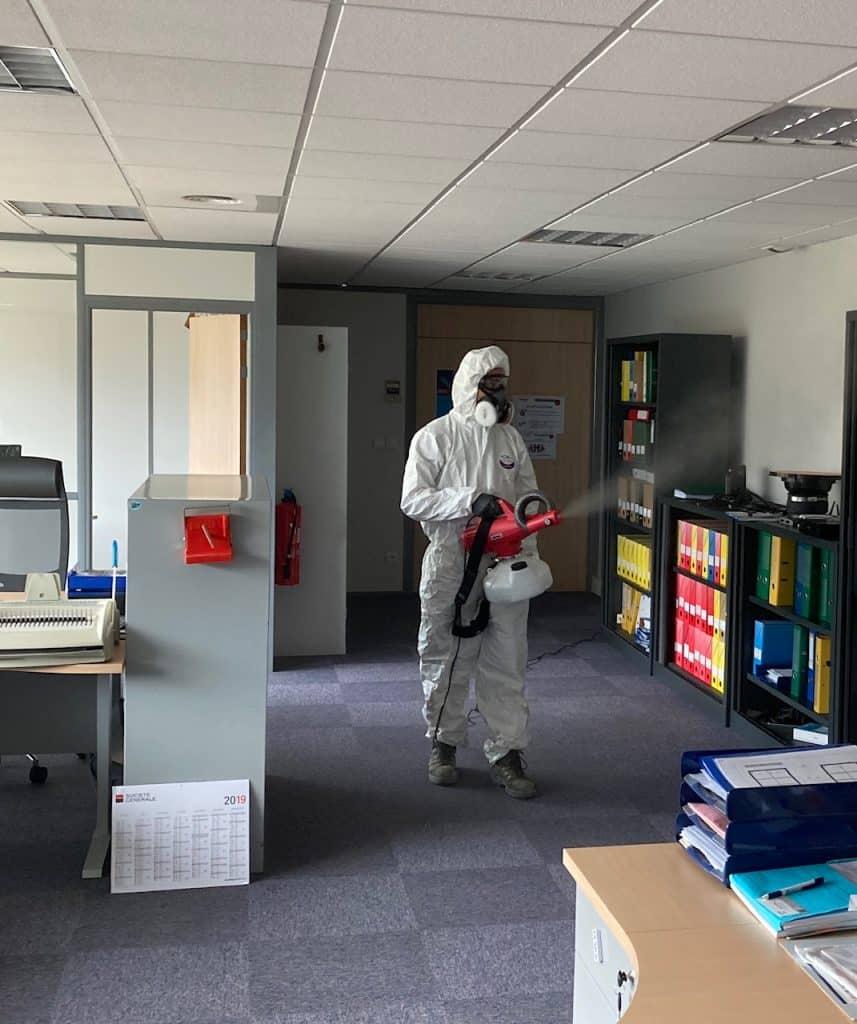 désinfection air coronavirus entreprise toulouse