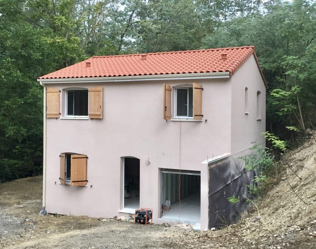 Nettoyage de fin de chantier d'une villa située à Castanet-Tolosan, DNA Propreté & Services