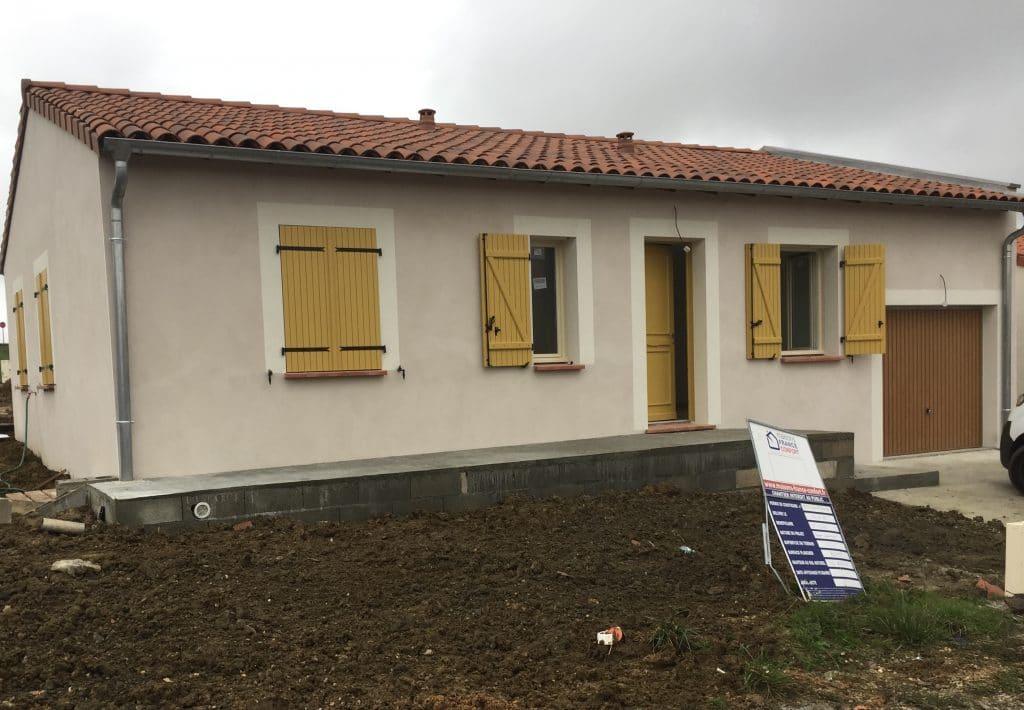 Nettoyage de fin de chantier d'une villa située à Gémil, DNA Propreté & Services