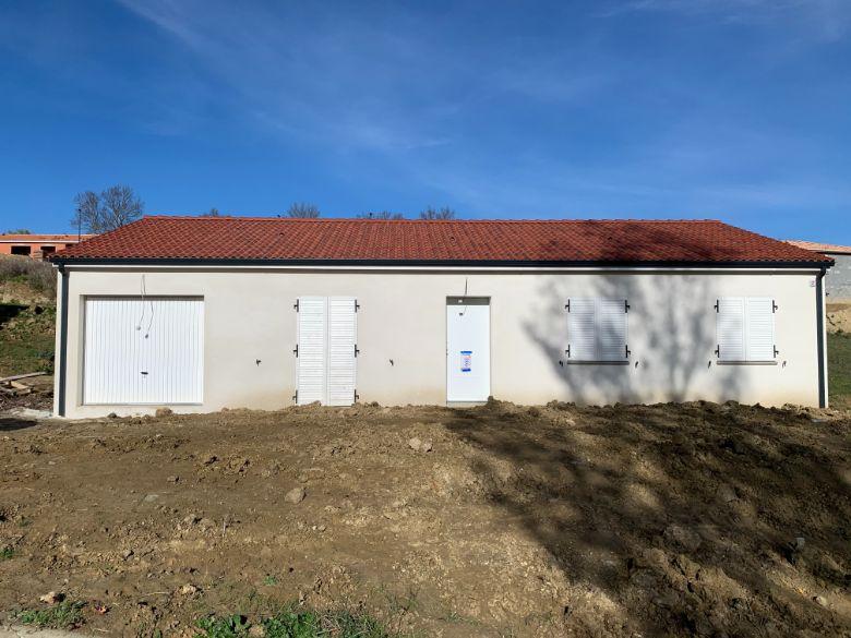 Nettoyage de fin de chantier d'une villa située à Nailloux, DNA Propreté & Services
