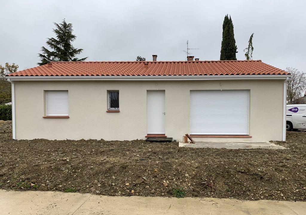 Nettoyage de fin de chantier de deux villas situées à Montastruc-la-Conseillère, DNA Propreté & Services