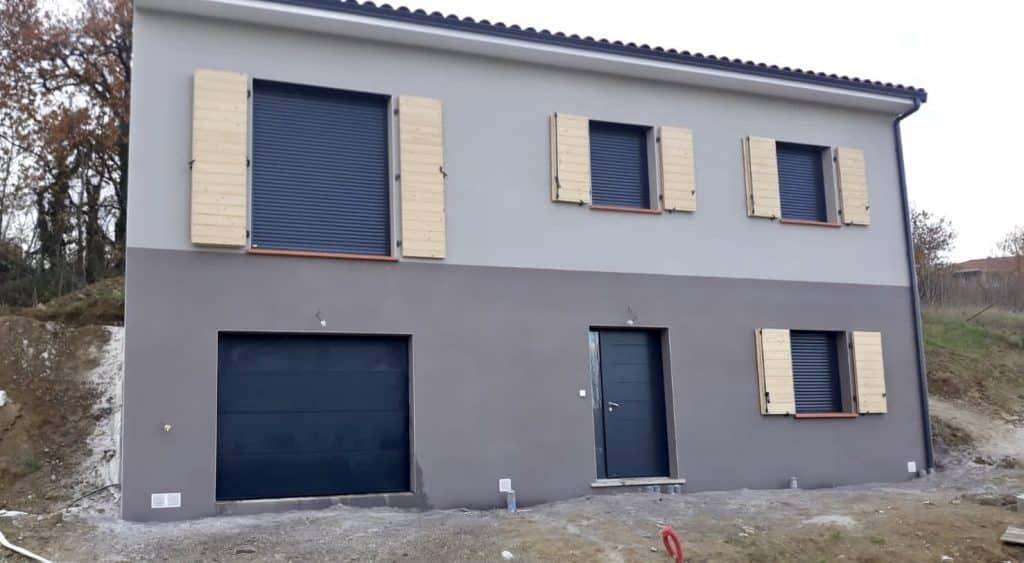 Nettoyage de fin de chantier d'une villa située à Saint-Orens-de-Gameville, DNA Propreté & Services