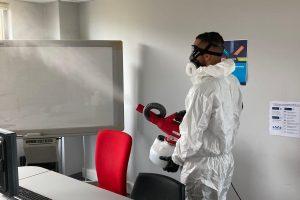 nettoyage et désinfection bureaux